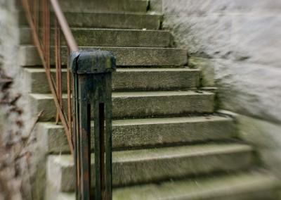 Vrångsholmen stone stairways